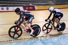 Master C Sprint 1/2 Final. 2015 Canadian Track Championships, October 8, 2015