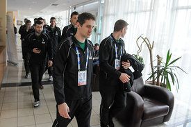 SEHA Final Four - PPD Zagreb team arrival