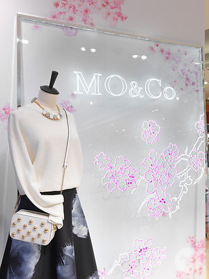 MO & Co POP UP STORE Galeries Lafayette