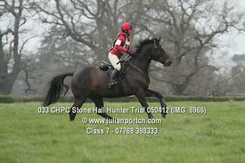 Class 7 - Stone Hall Hunter Trial 2012