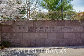New Deal Pledge at FDR Memorial