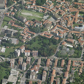 Concorezzo aerial photos