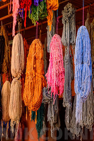 Dyed wool Marrakech