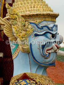 Temple Guard Statue Royal Palace 4