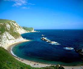 st catherines bay, lulworth, isle of purbeck, dorset.