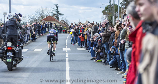 The Cyclist Daniel Mc Lay - Paris-Nice 2016