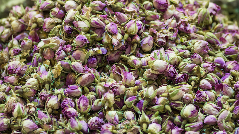 Roses to make tea, for sale in the spice market, Istanbul