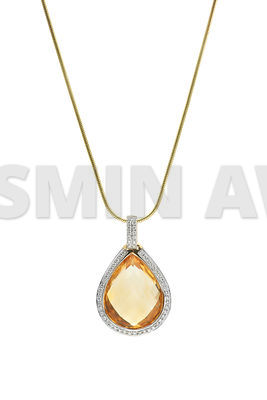 Beautiful pendant on white