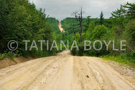 State highway; Northern Sakhalin, Russia