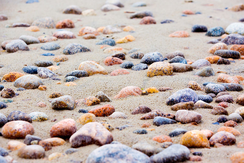 BEACH STONES GLOUCESTER CAPE ANN MASSACHUSETTS COLOR
