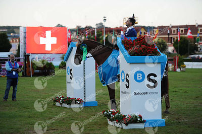 Prize Giving ceremony of Gran Premio Sabadell   Herrero