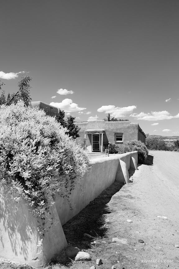 ABIQUIU NEW MEXICO NORTHERN NEW MEXICO BLACK AND WHITE VERTICAL