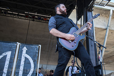Hazmatt Thomas of Fallrise at Aftershock 2014