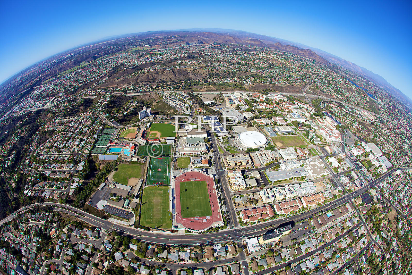 Brent Haywood Photography Sdsu Aerial Photo