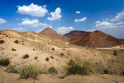 Beautiful desert near Amba village, Rajasthan, India
