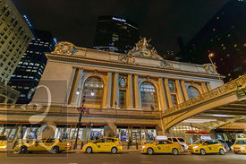 Grand Central Station and Taxis