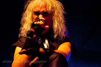 Chris Boltendahl, vocals, Grave Digger