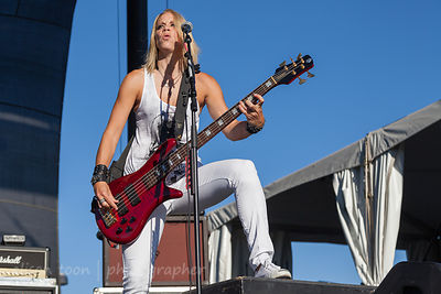 Gina Salatino, bass and guitar, Some Fear None