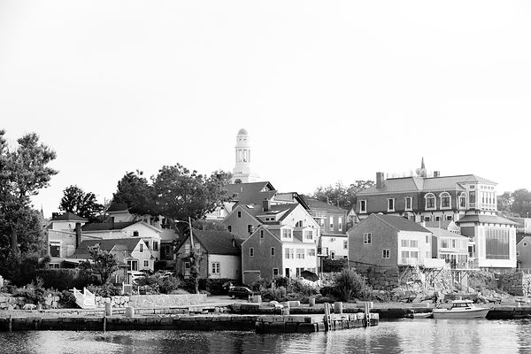 ROCKPORT  MASSACHUSETTS BLACK AND WHITE