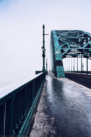 Foggy Morning on the Tyne Bridge