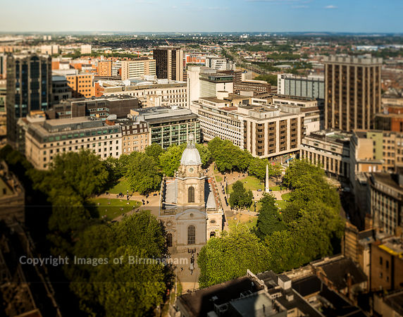 St Philips Cathedral and Square, Birmingham