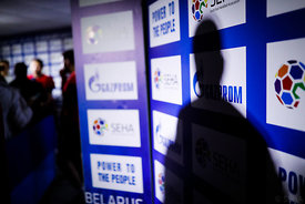 Players during the Final Tournament - Final Four - SEHA - Gazprom league, Media meeting in Brest, Belarus, 08.04.2017, Mandatory Credit ©SEHA/ Uros Hočevar