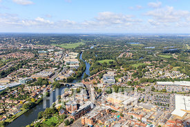 Aerial Photography Taken In and Around Staines-upon-Thames, UK