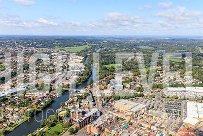 Staines-upon-Thames Aerial Photography