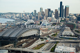 Safeco Field & Century Link Field Stadiums, Seattle