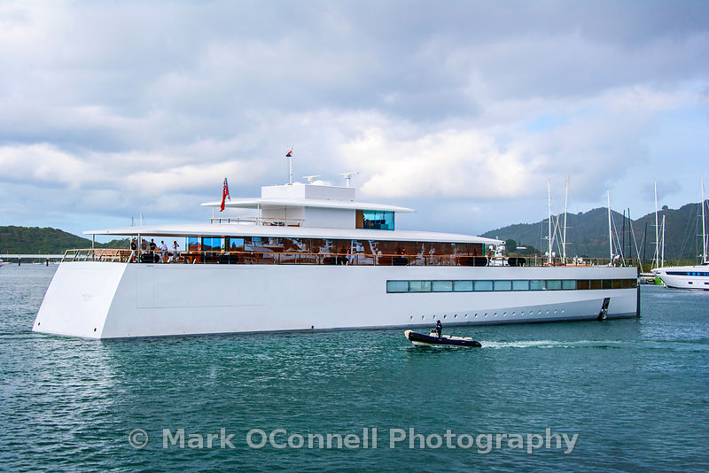 Superyacht Venus in St Maarten
