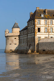 Tour Gabriel; Mont-Saint-Michel; Manche (50); Basse-Normandie; France