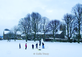 Salisbury Fields in Winter, Dorchester,