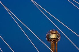 Support Cables and Reunion Tower