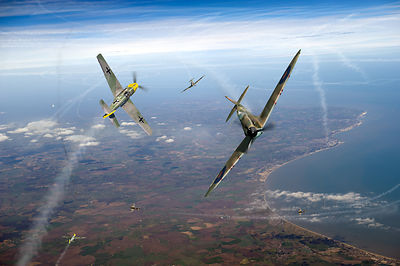 Battle of Britain duellists: Spitfire and Bf 109