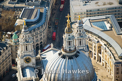 St Paul's Cathedral roof, London