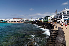 Playa Blanca, Lanzarote, Canary Islands, Spain.