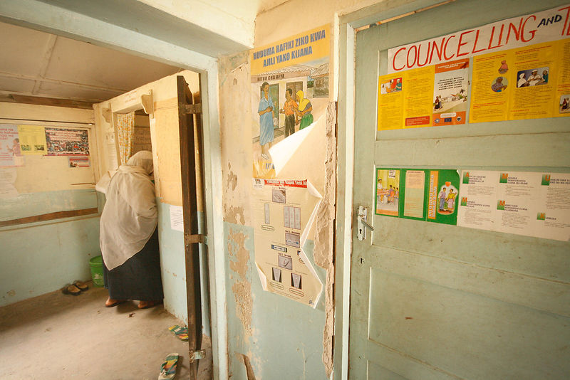 Obs and Gyn clinic, Wete, southern Pemba, 2010.