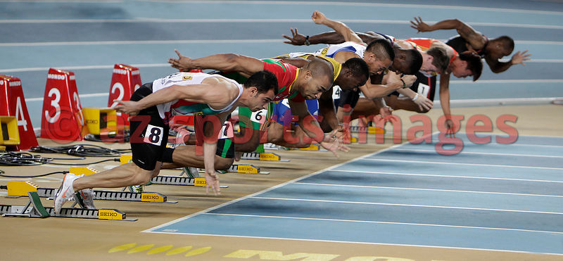 60m Men's Final IAAF World Indoor Championships 2012