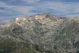 Corsican moutains