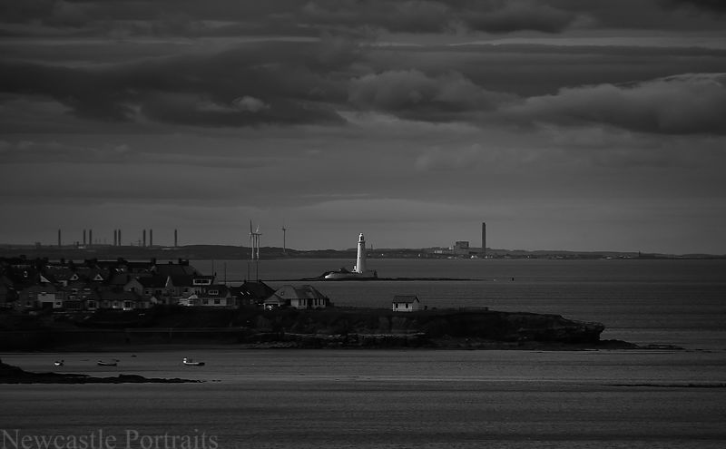 St. Mary's Lighthouse from a distance