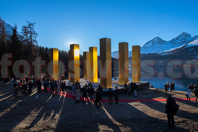 Heinz Mack - THE SKY OVER NINE COLUMNS TRAVELS TO ST. MORITZ   photos