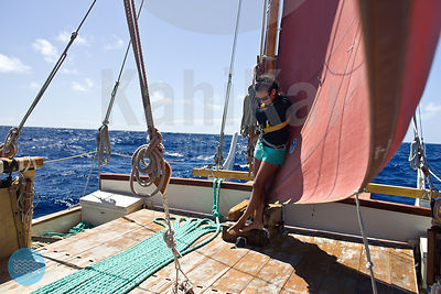 Hokule'a Statewide sail - August 2012 photos