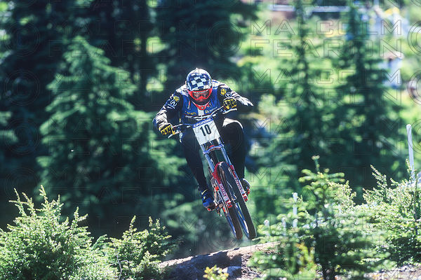 STEVE PEAT FINAL SNOQUALMIE, USA. GRUNDIG DOWNHILL WORLD CUP 1998