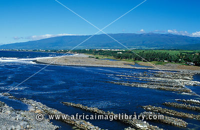 Mouth of the river, Rivière de Marsouins, Reunion