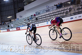U17 Women Sprint 1-2 Final. 2016/2017 Track O-Cup #3/Eastern Track Challenge, Mattamy National Cycling Centre, Milton, On, February 11, 2017