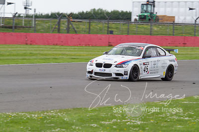 RLR BMW M3 GT4 in action at the Silverstone 500 - the third round of the British GT Championship 2014 - 1st June 2014