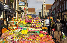 The Flower Seller, Cornhill, Dorchester