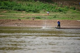 Fishing the Mekong River