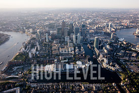 Aerial Photography Taken In and Around the Tower Hamlets, London