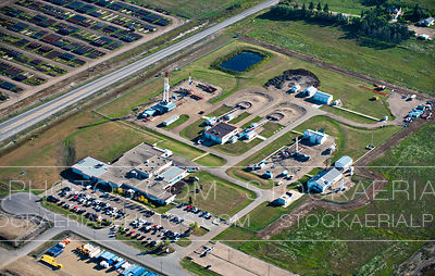 Oilfield Drilling Rig Manufacturer, Aerial Photo